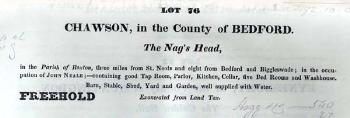 WG2526 Nags Head from 1840 sale catalogue