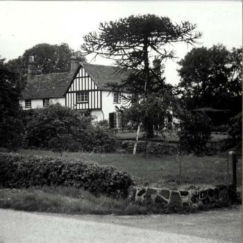 Chawston Manor in 1961 [Z53/97/7]