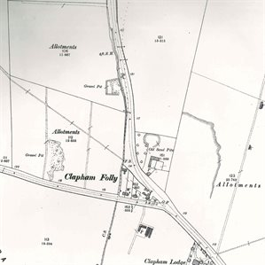 Clapham Folly in 1901