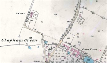 Clapham Green in 1883