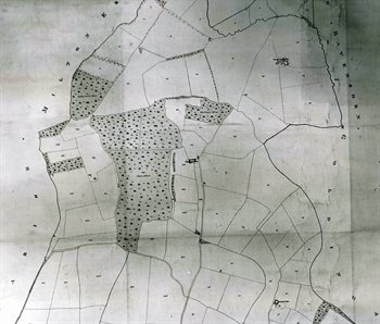 Northern part of Clapham in 1839 [MAT10-1]
