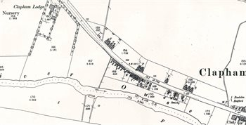 The western part of the village in 1901