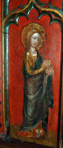 Mary Magdalene from the 15th century screen November 2009