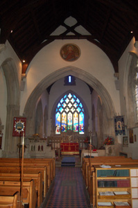 The nave looking east November 2009