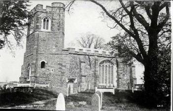 Clophill old church about 1900