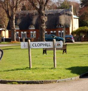 Clophill Sign
