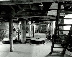 The ground floor of Clophill Mill in 1983 [Z50/31/111]