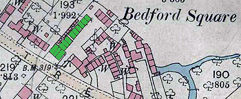 51 High Street and its nine cottages to the rear in 1880