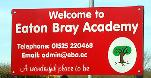 Eaton Bray Lower School sign March 2012