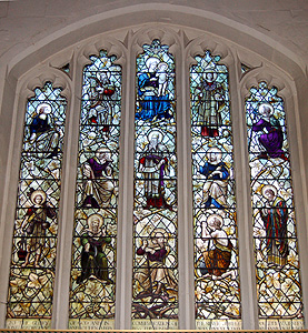 The east window March 2012