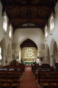 The interior looking east August 2007
