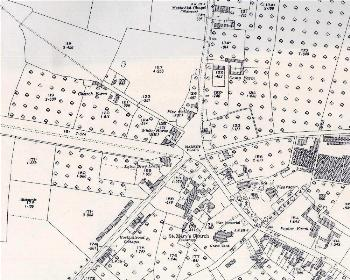 The north-west part of the village in 1926