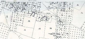 The northern part of the village in 1926