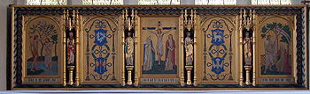 The reredos March 2012