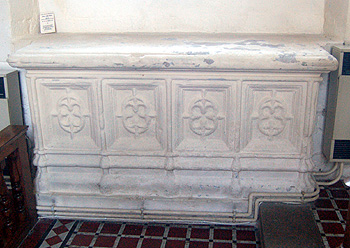 The tomb of Lady Jane Brereton March 2012