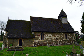 Eggington Church from the north January 2013