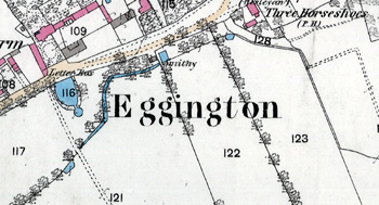 Ordnance Survey map close-up