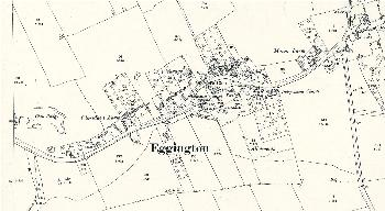 The eastern part of Eggington in 1901