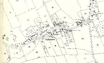 The eastern part of Eggington in 1926
