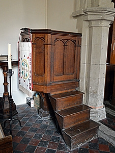 The pulpit July 2013