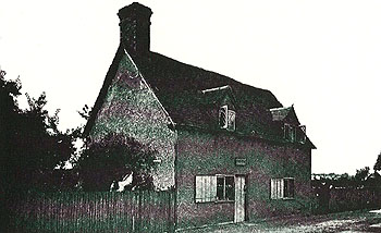 Bunyan's Cottage pictured in The Victoria County History of 1912