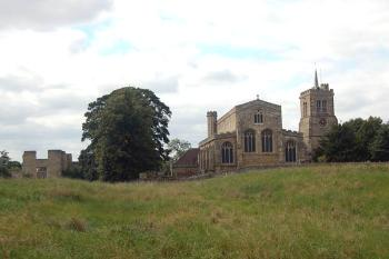 Elstow Abbey from the east September 2007
