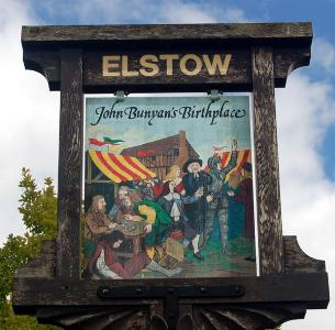 Elstow village sign September 2007