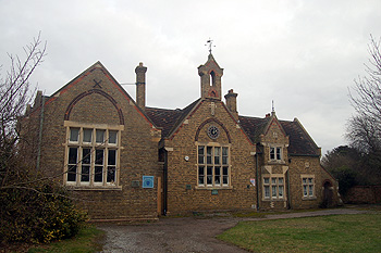 The former Elstow village school February 2012