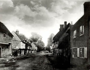 The High Street in 1878 [Z100/1]