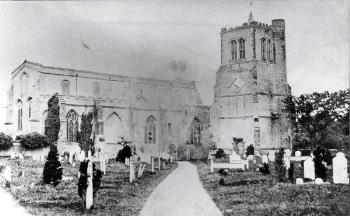 Elstow church about 1865 [Z50/43/67]