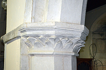 12th century capital in the north arcade September 2016