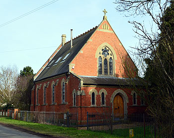 The former Methodist chapel in Everton Road, Gamlingay February 2013