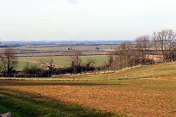 View north-west from Tempsford Road February 2013
