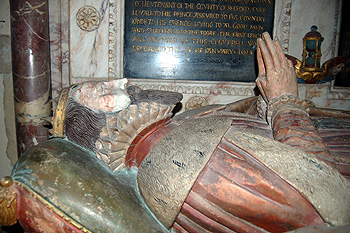 Effigy of the 6th Earl of Kent August 2011