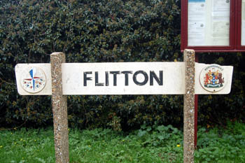 Flitton sign October 2010
