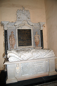Memorial of the 10th Earl of Kent August 2011