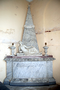 Monument to Henrietta de Grey August 2011