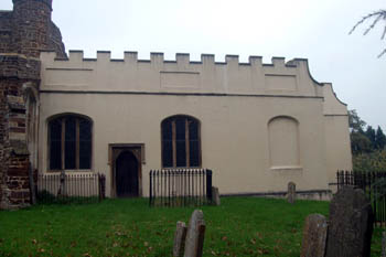 The de Grey Mausoleum from the south October 2010