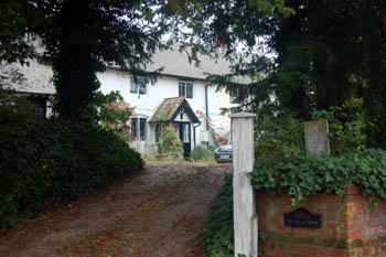 The Old Vicarage at Flitton October 2010