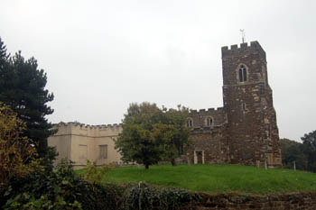 The church from the north October 2010