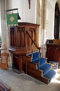 The pulpit August 2011