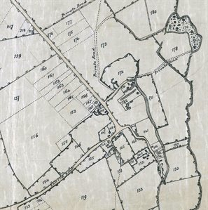 East End about 1808 [MA68] note the top of the map is north-east