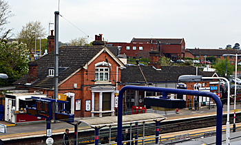 Flitwick Station April 2017
