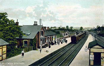 Flitwick Station about 1910 [Z1130/50/6]