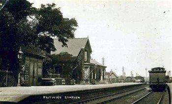 Flitwick Station about 1920 [Z1130/50/8]