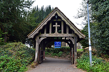 The lych gate April 2017