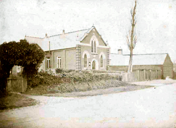 Great Barford Wesleyan Chapel in 1907 [MB1091a]