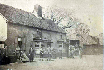 Photograph of the Kings Arms about 1885 by C H Litchfield [X746-1]
