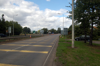 The A1 at Girtford August 2010
