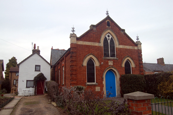 The Methodist chapel in March 2010